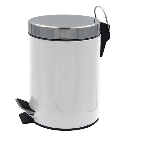 Ведро для мусора Ridder timon 5л белый фото