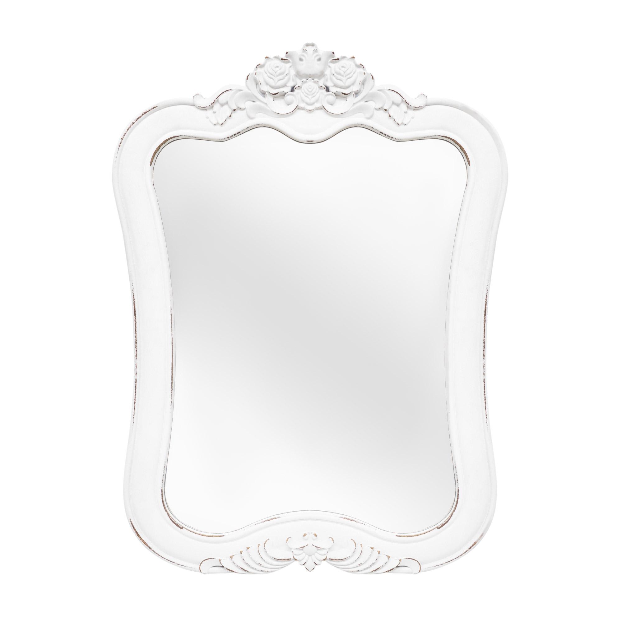 Купить Зеркало декоративное Dekor pap 80х59.5х2см, белый