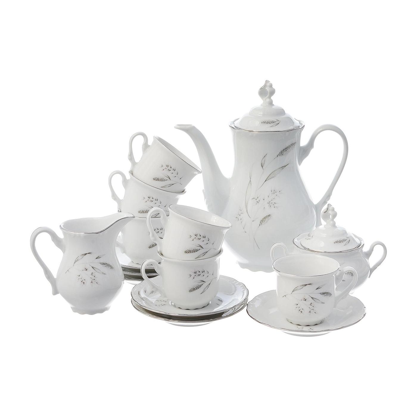 Сервиз кофейный Thun 1794 6 персон 17 предметов Constance недорого