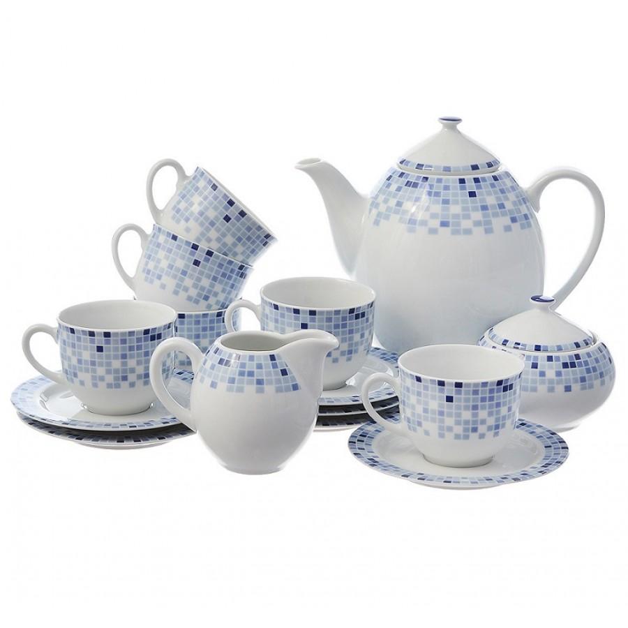 Сервиз кофейный Thun 1794 6 персон 17 предметов Opal