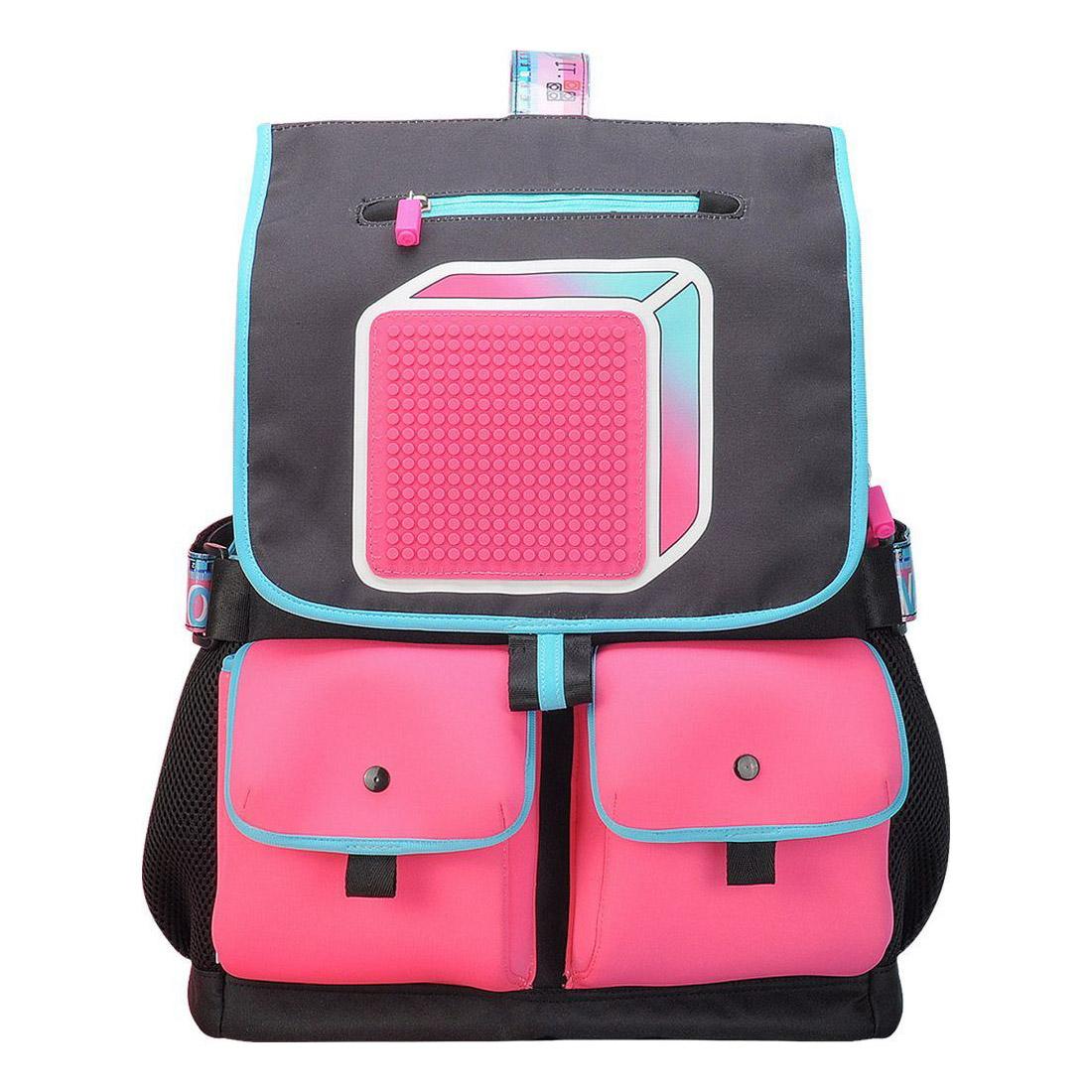 Ранец школьный Upixel Model Answer Черный школьные рюкзаки upixel школьный ранец u18 13 с принтом