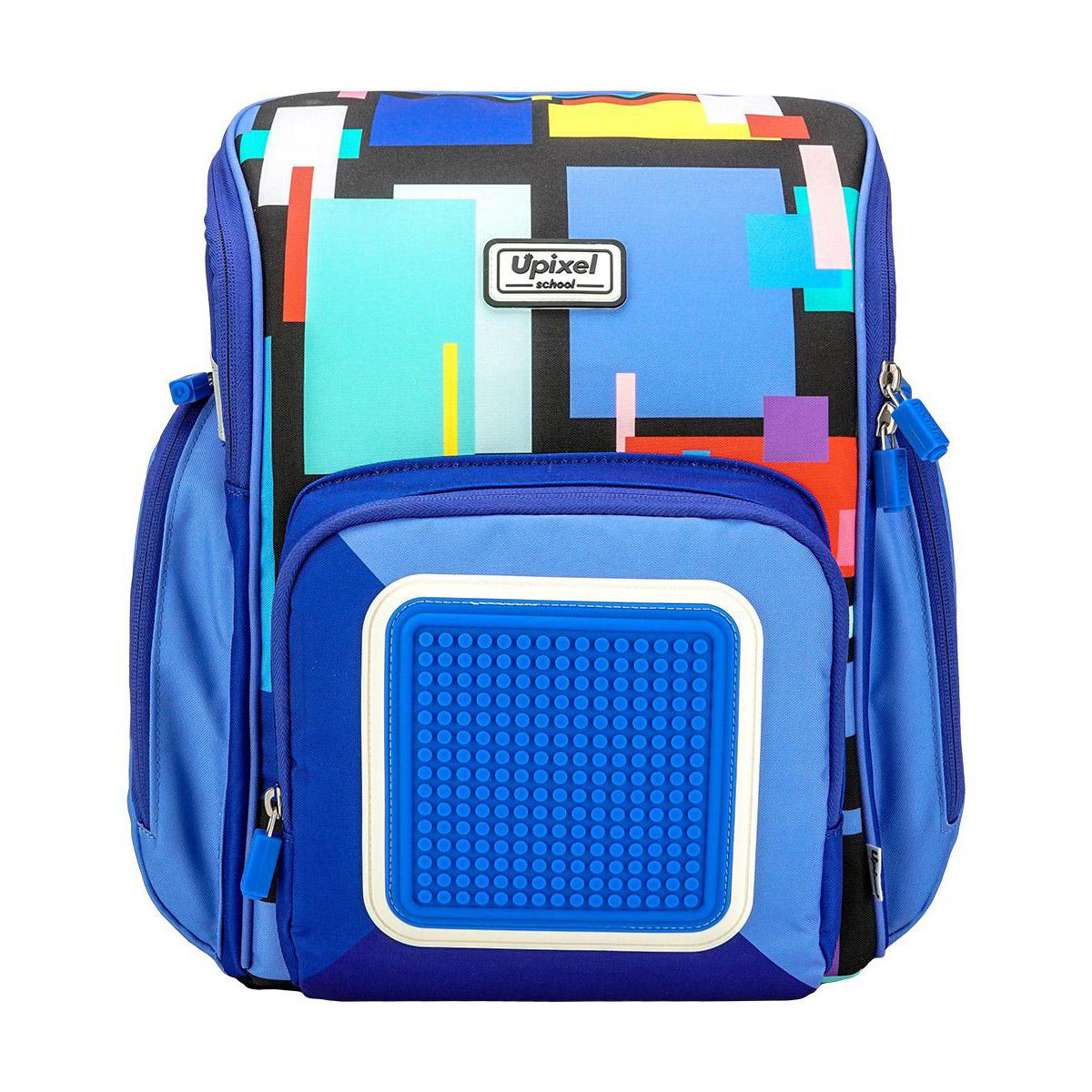 Ранец школьный Pixel WY-U18 Funny Square School Bag