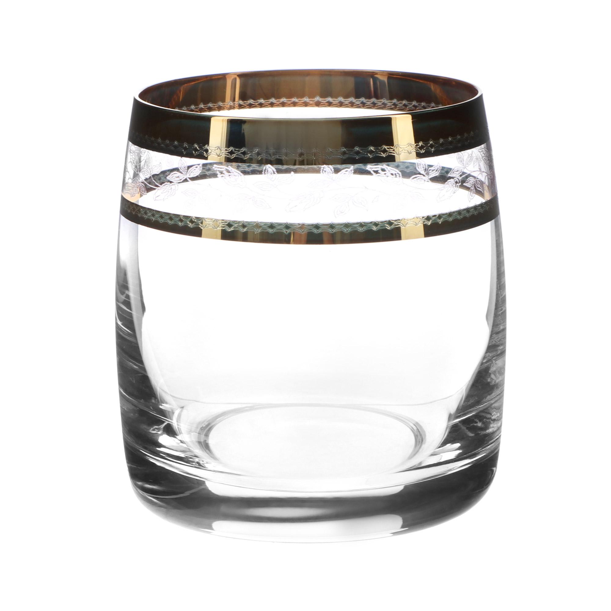 Набор стаканов для виски Crystal Bohemia ideal 290 мл 6 шт