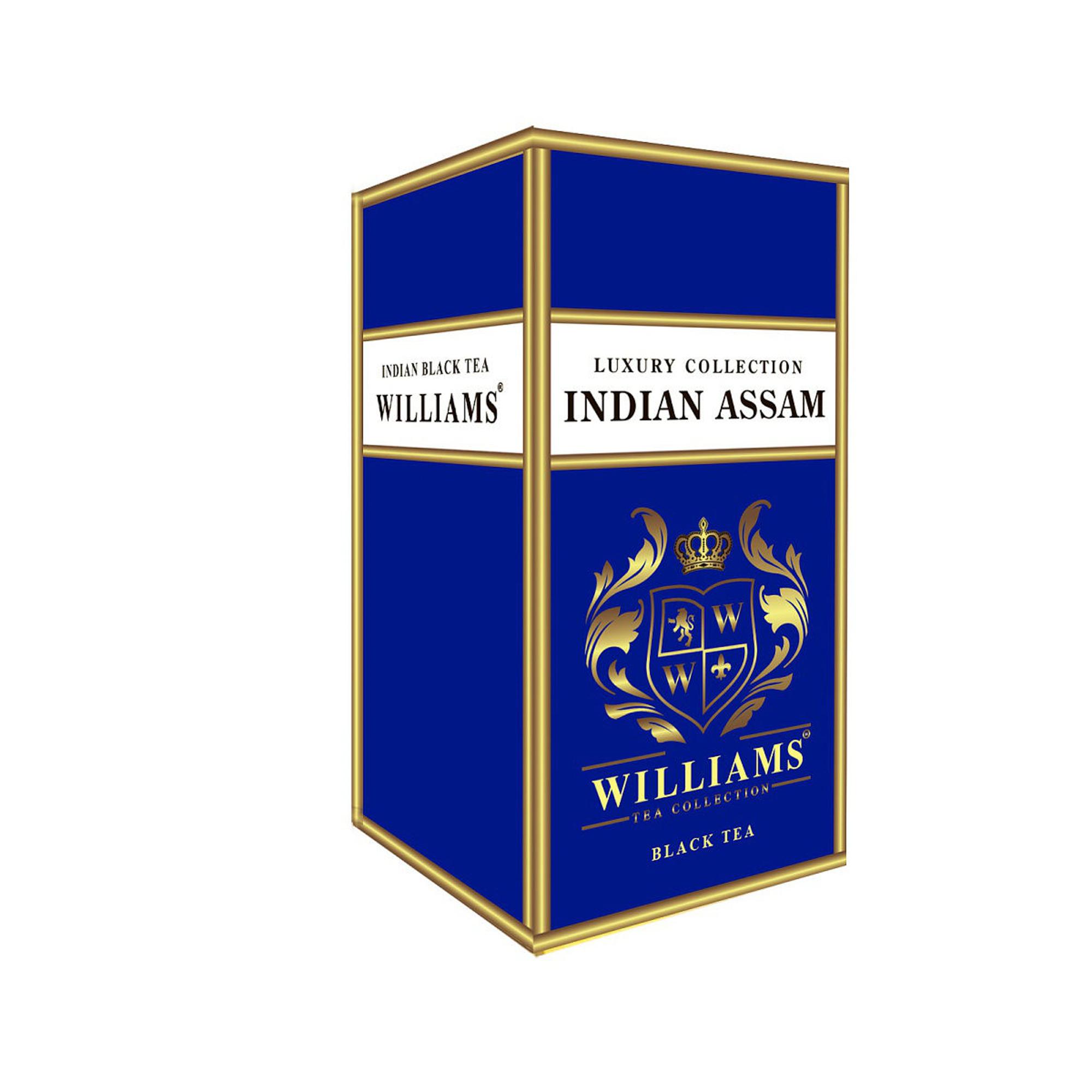 Чай черный Williams Indian Assam листовой 150 г чай черный teekanne черная смородина гранат листовой 150 г