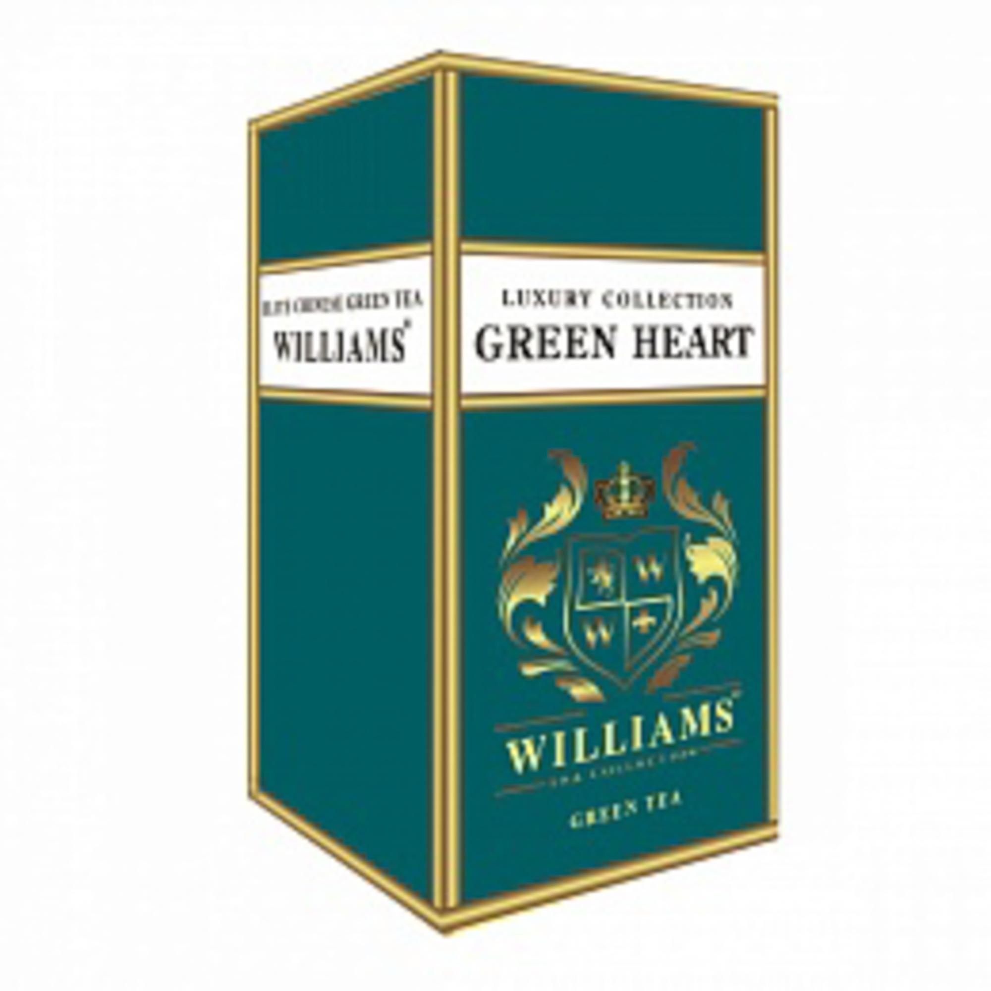 Чай зеленый Williams Green Heart листовой 125 г