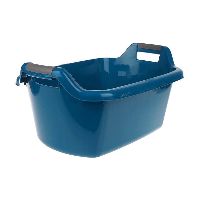 Фото - Таз круглый Curver с ручками 35л голубой таз волна 20л 45см круглый с ручками пластик микс цвета