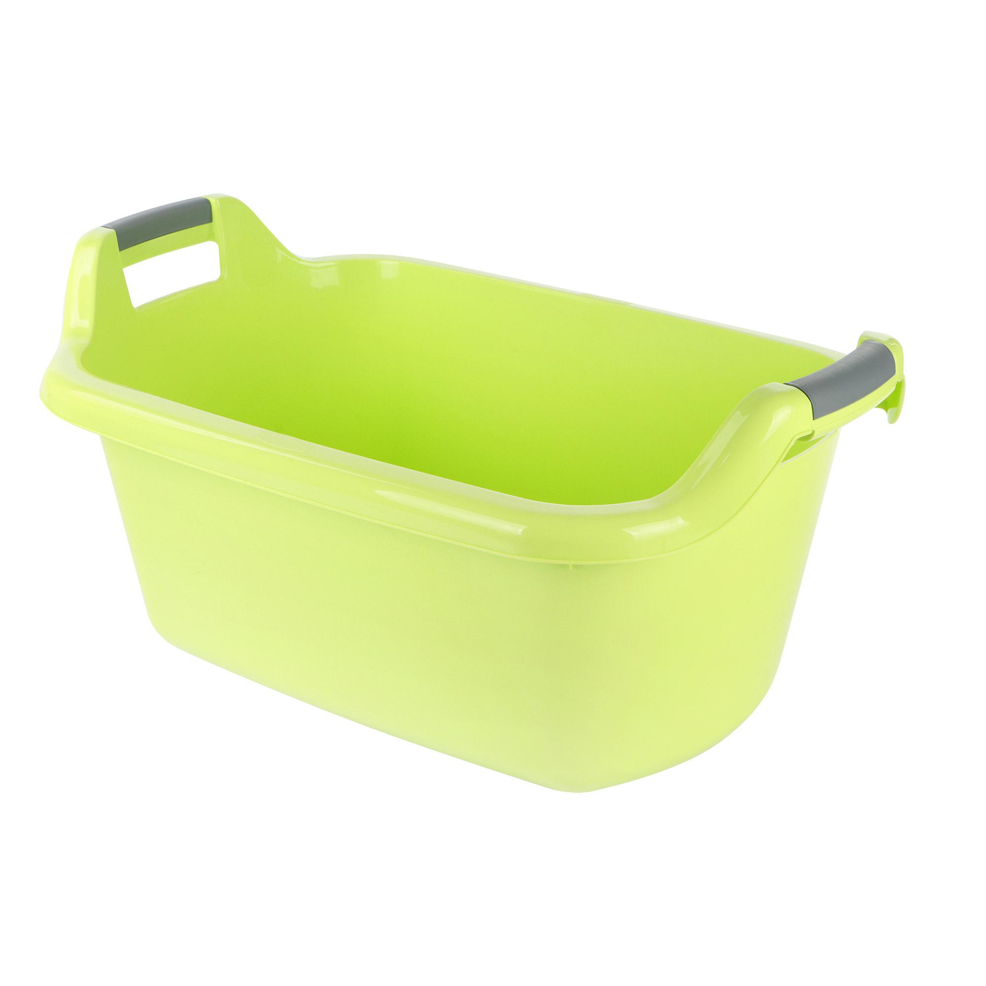 Фото - Таз круглый с ручками Curver 35л зеленый таз волна 20л 45см круглый с ручками пластик микс цвета