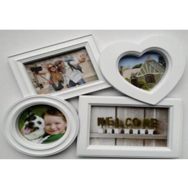 Фоторамка на 4 фото Русские Подарки счастливые моменты 27х31см
