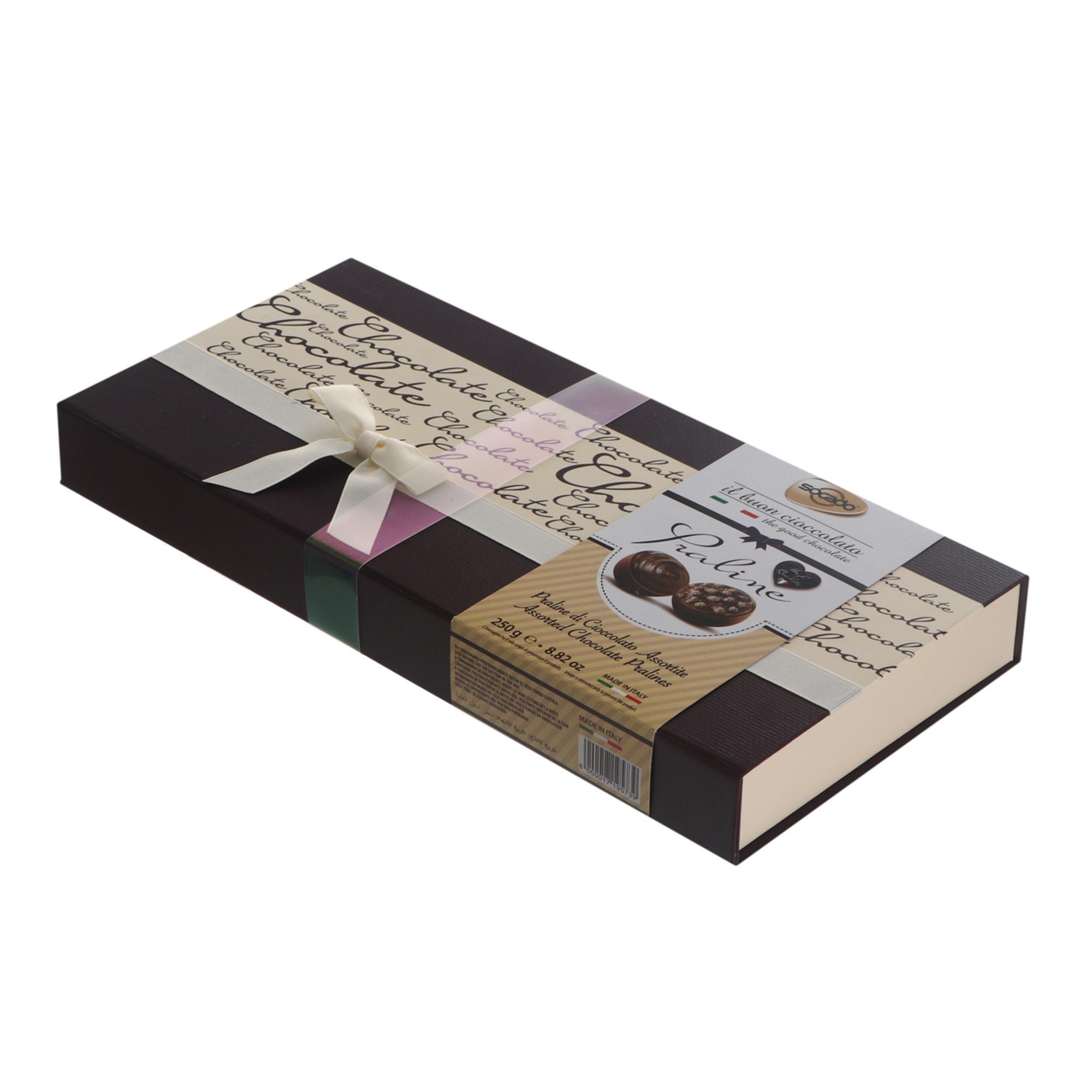 Конфеты шоколадные Socado Пралине шоколад с ореховым кремом 250 г фото