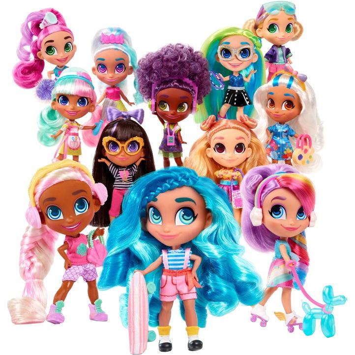 Игровой набор Just Play Hairdorables Surprise Кукла-загадка 2 серия с аксессуарами