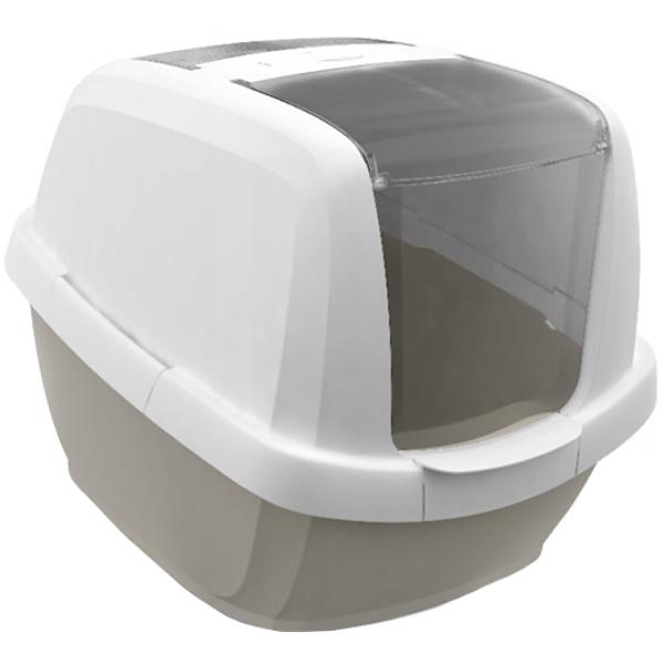 Туалет для кошек IMAC Maddy закрытый бежево-серый туалет для кошек imac maddy закрытый бежево серый
