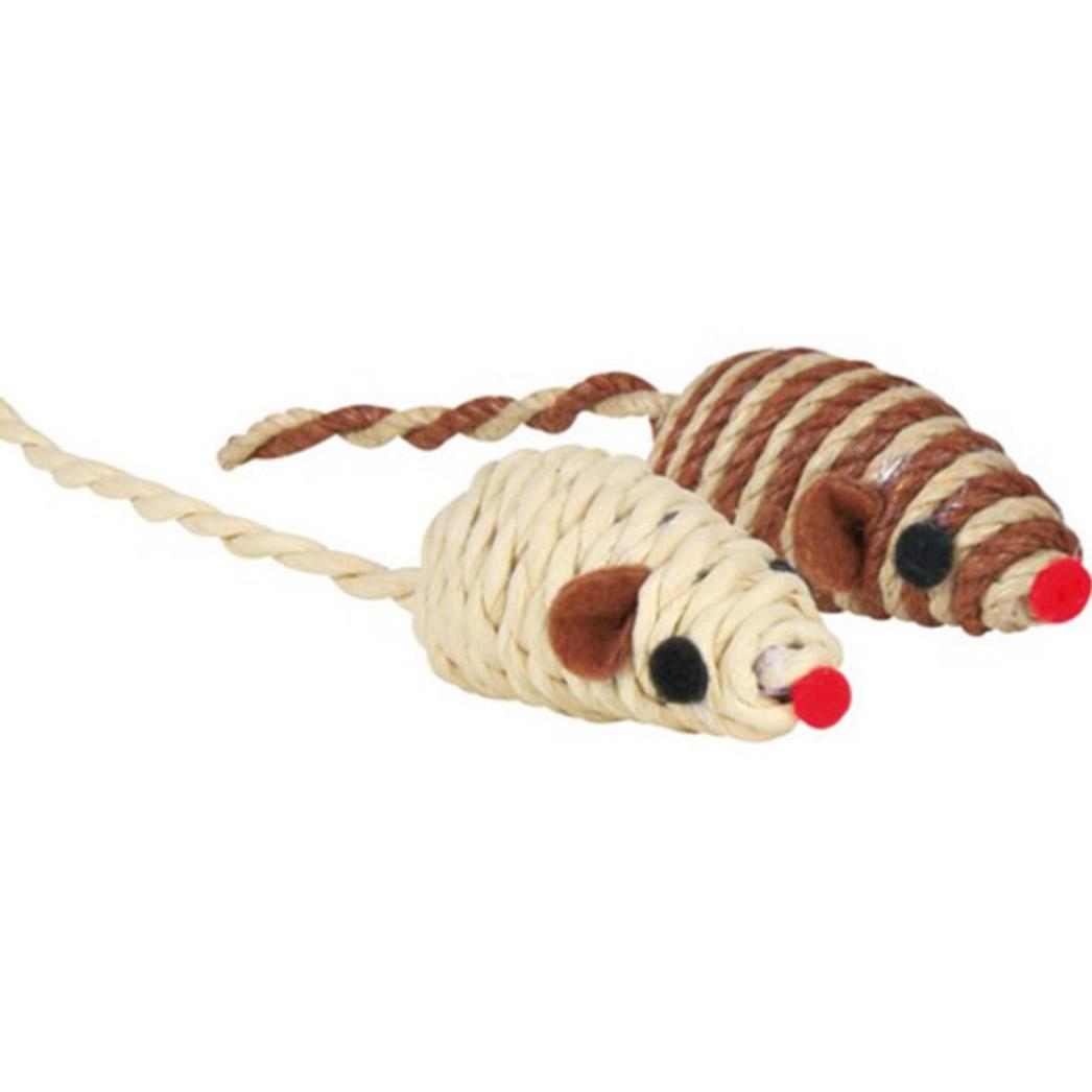 Игрушка для кошек TRIXIE Мини мышка 5см ассортимент игрушка для кошек trixie набор мини мышек 5см 1шт