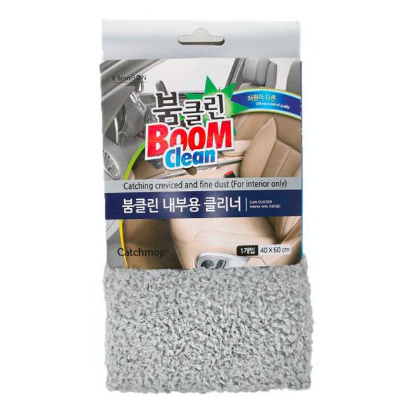Салфетка для салона автомобиля BoomClean 40х60 см, серый