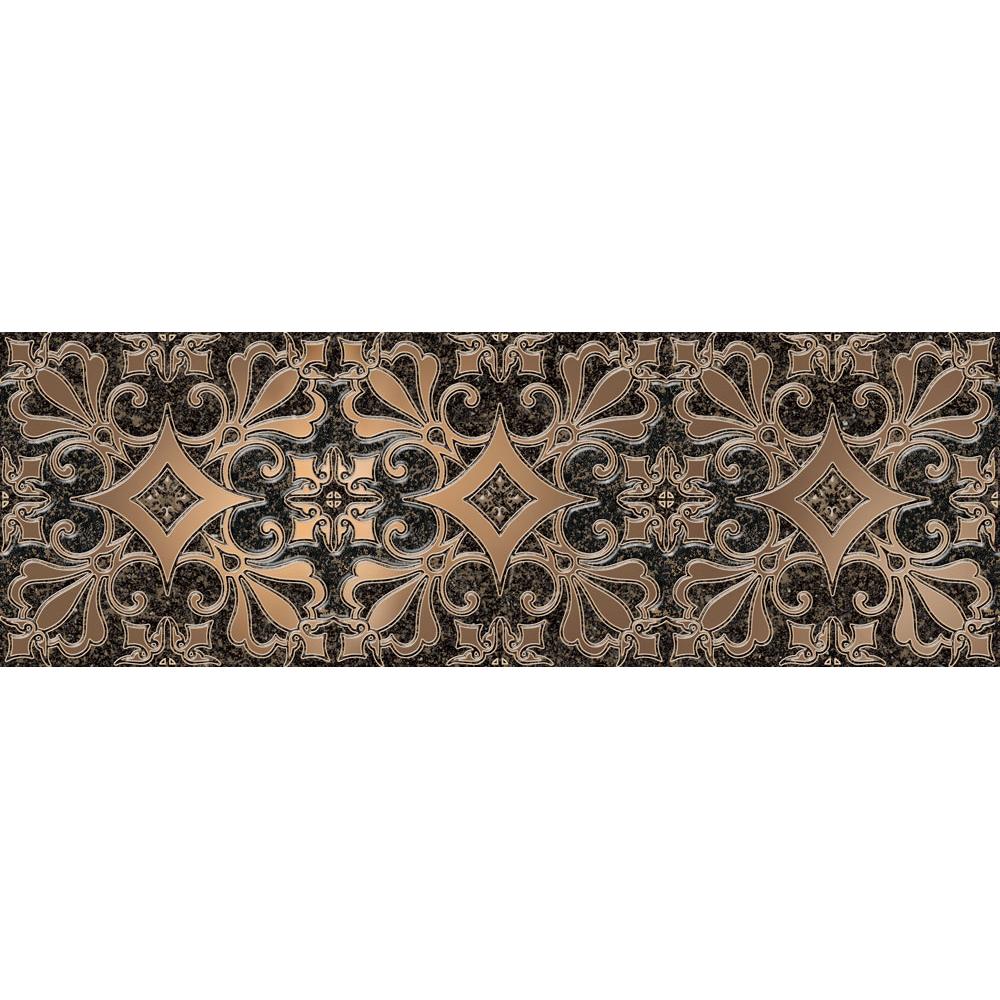 Декор Alma Ceramica Marbella DWU11MBL402 20x60 см мозаика alma ceramica marbella mwu30mbl404 30х30см