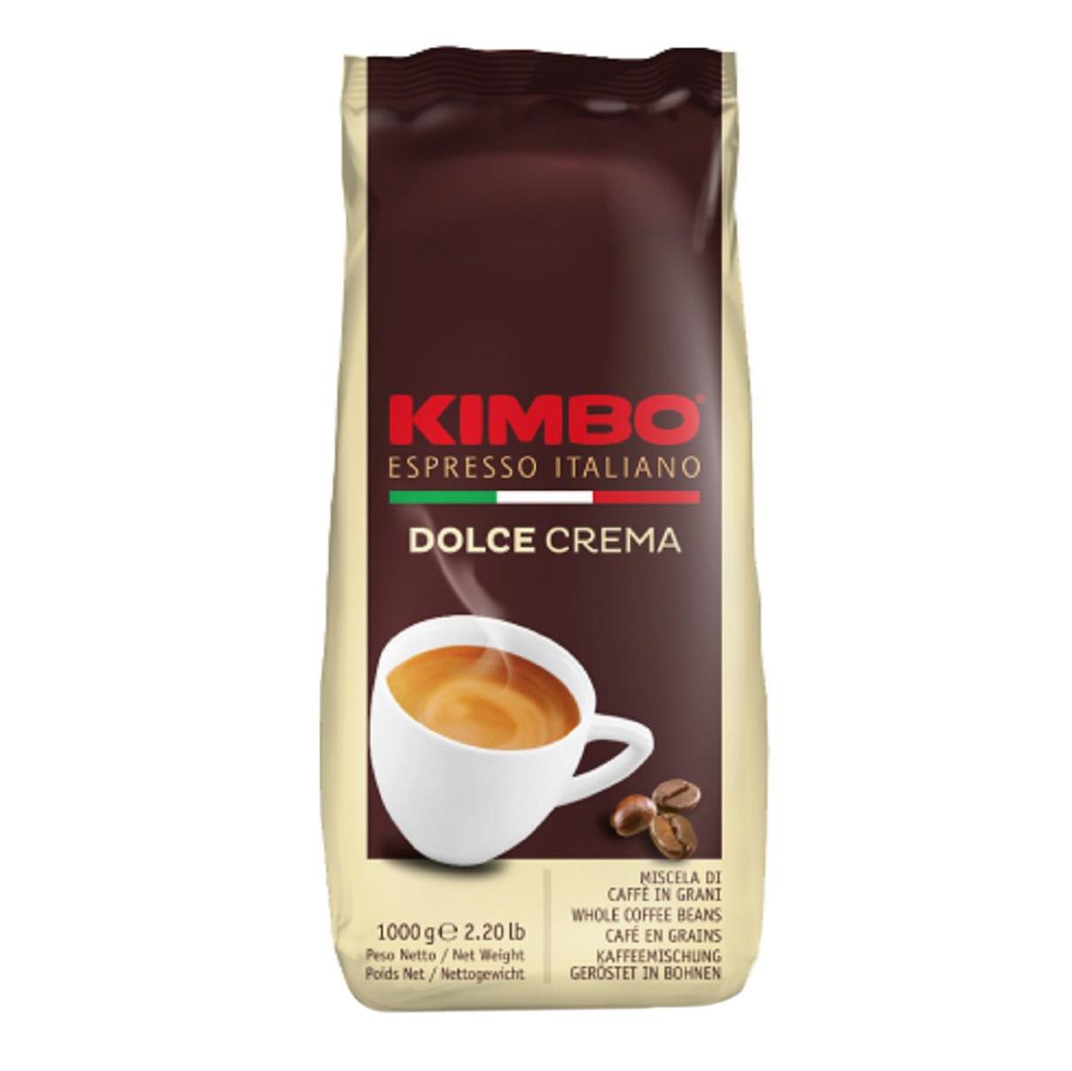 Кофе в зернах Kimbo Dolce Crema 1кг