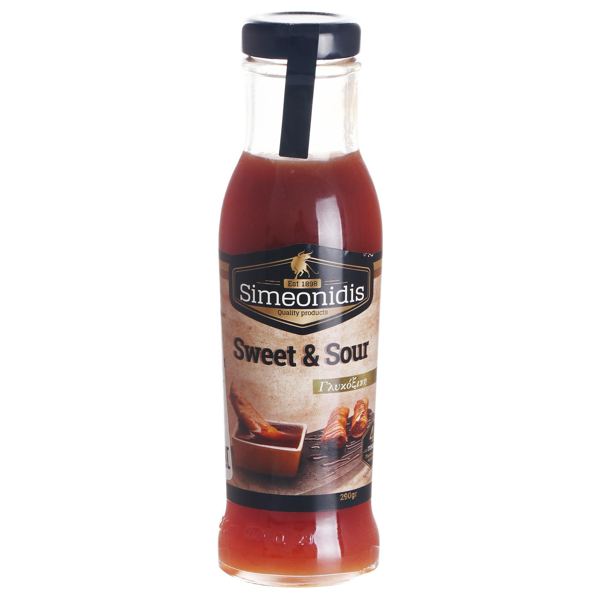 Соус Simeonidis кисло-сладкий 290 г соус чили fansipan кисло сладкий 200 г