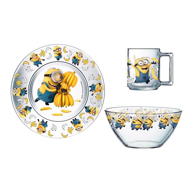 Набор для завтрака Disney Миньоны 3 предмета printio миньоны