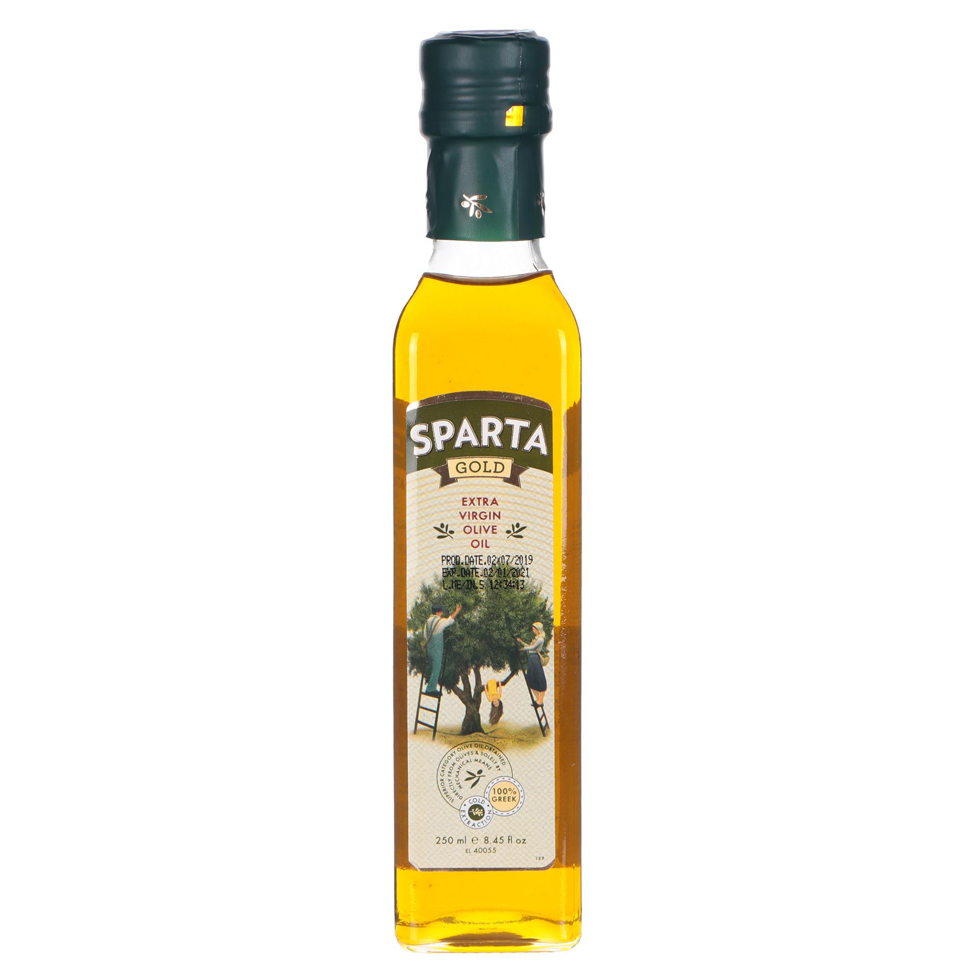 Масло оливковое Sparta Gold Extra Virgin 250 мл korvel оливковое масло extra virgin греция данае 250 мл