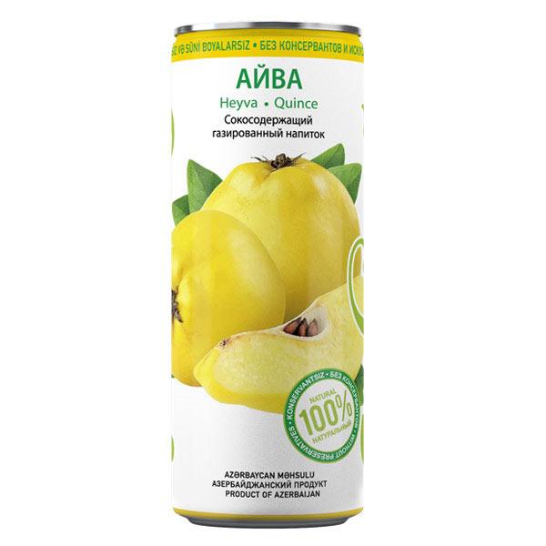 Газированный напиток Shahdag Айва, 0,33 л