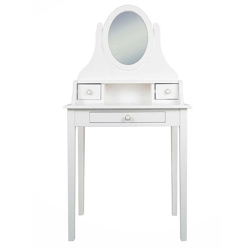 Туалетный столик с Зеркалом Этажерка Adelina DM1038ETG туалетный столик с зеркалом первый мебельный стол туалетный венето
