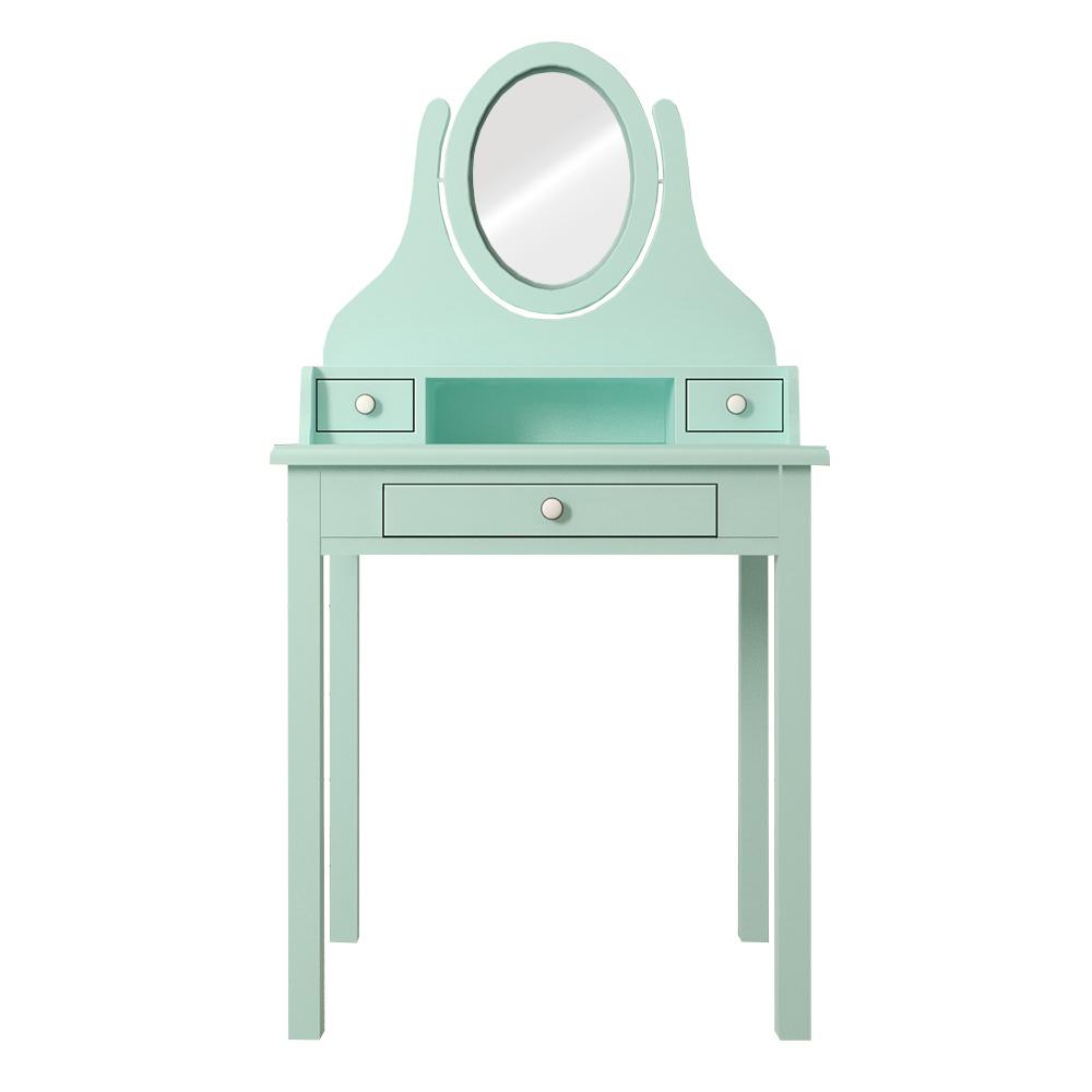 Туалетный столик с Зеркалом Этажерка Adelina DM1038ETGM