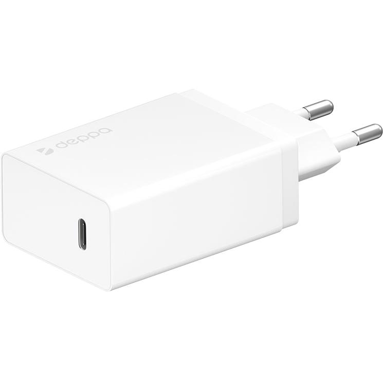 Фото - Сетевое зарядное устройство Deppa USB Type-C Power Delivery 30 Вт 11388 автомобильное зарядное устройство belkin f8j054btblk usb 2 4а черный
