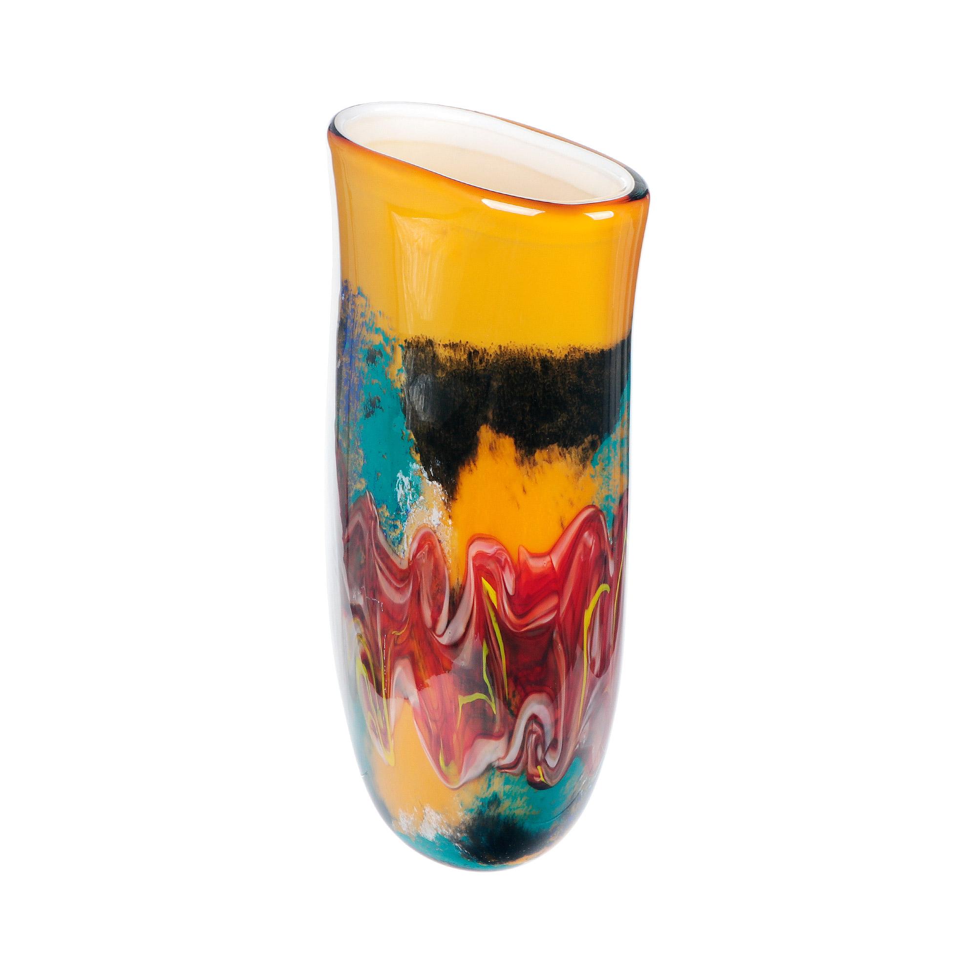 Ваза Art glass богема 44см