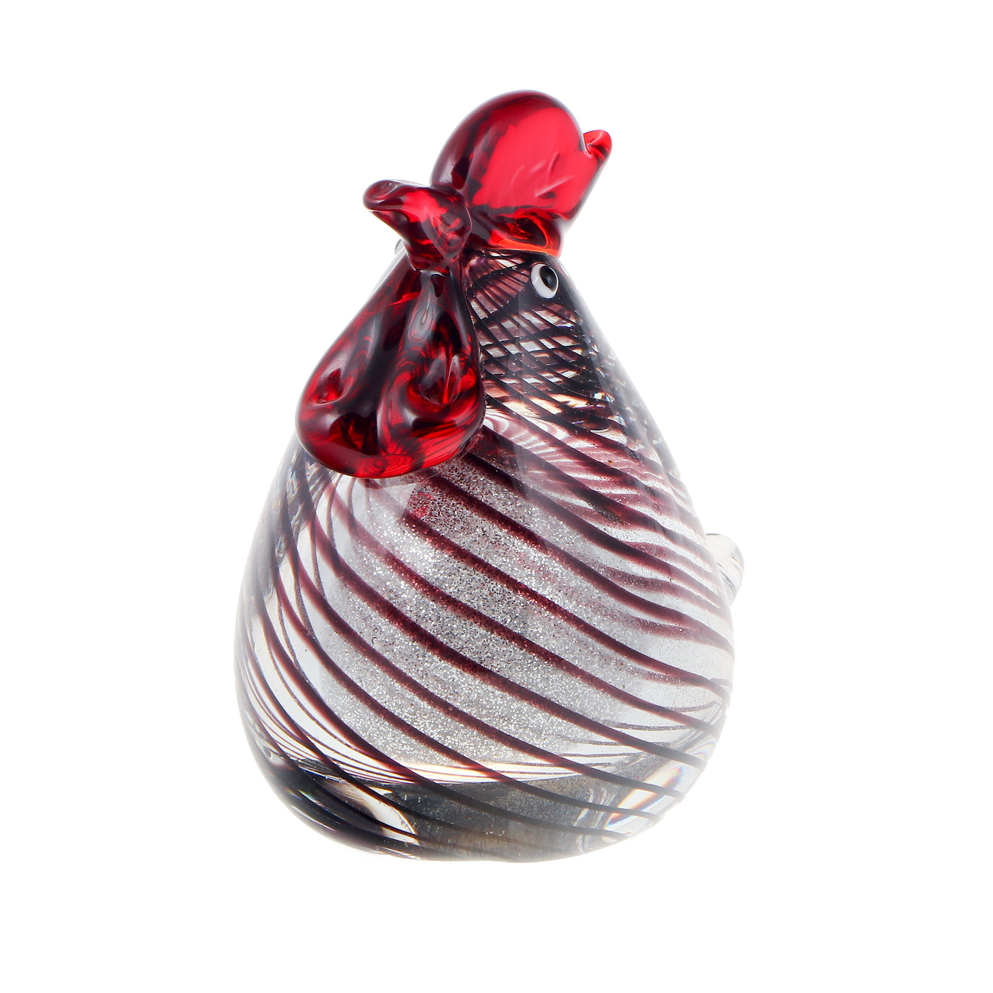 Фигурка Art glass курочка 11x12 см фигурка art glass пеликан 22х26 см