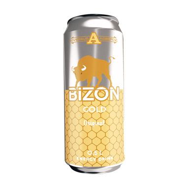 Напиток энергетический Bizon Gold 500 мл напиток энергетический monster green 500 мл