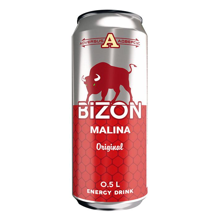 Напиток энергетический Bizon Red 500 мл напиток энергетический monster green 500 мл