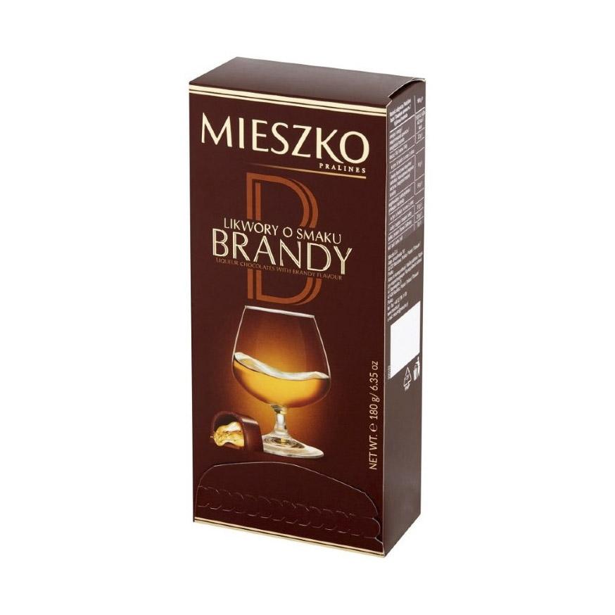 Набор конфет Mieszko с Бренди 180 г набор конфет mieszko с виски 180 г