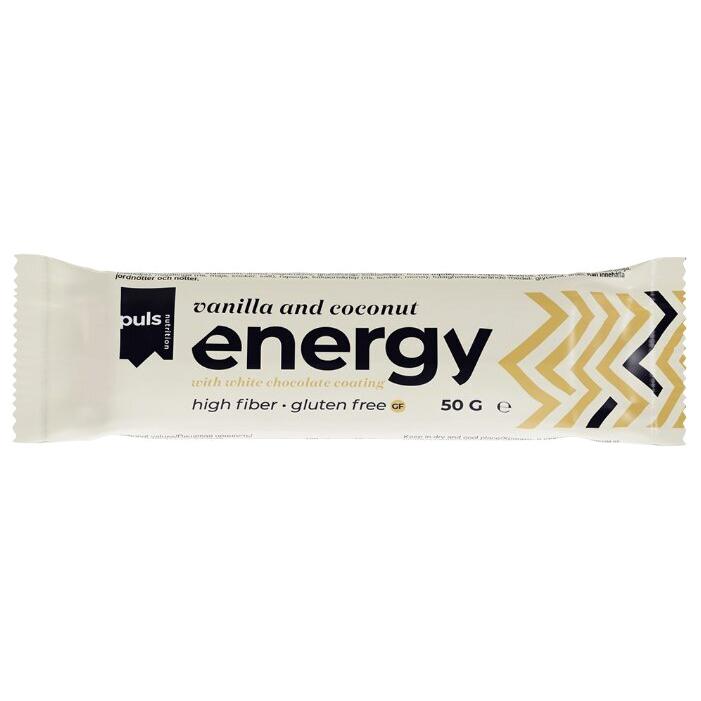 Батончик энергетический Puls Nutrition Ваниль и кокос 50 г