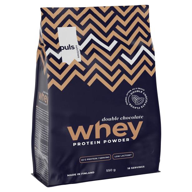 Протеин Puls Nutrition Whey Шоколадный 550 г