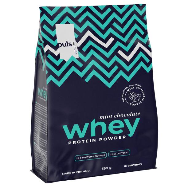 Протеин Puls Nutrition Whey Мятный 550 г