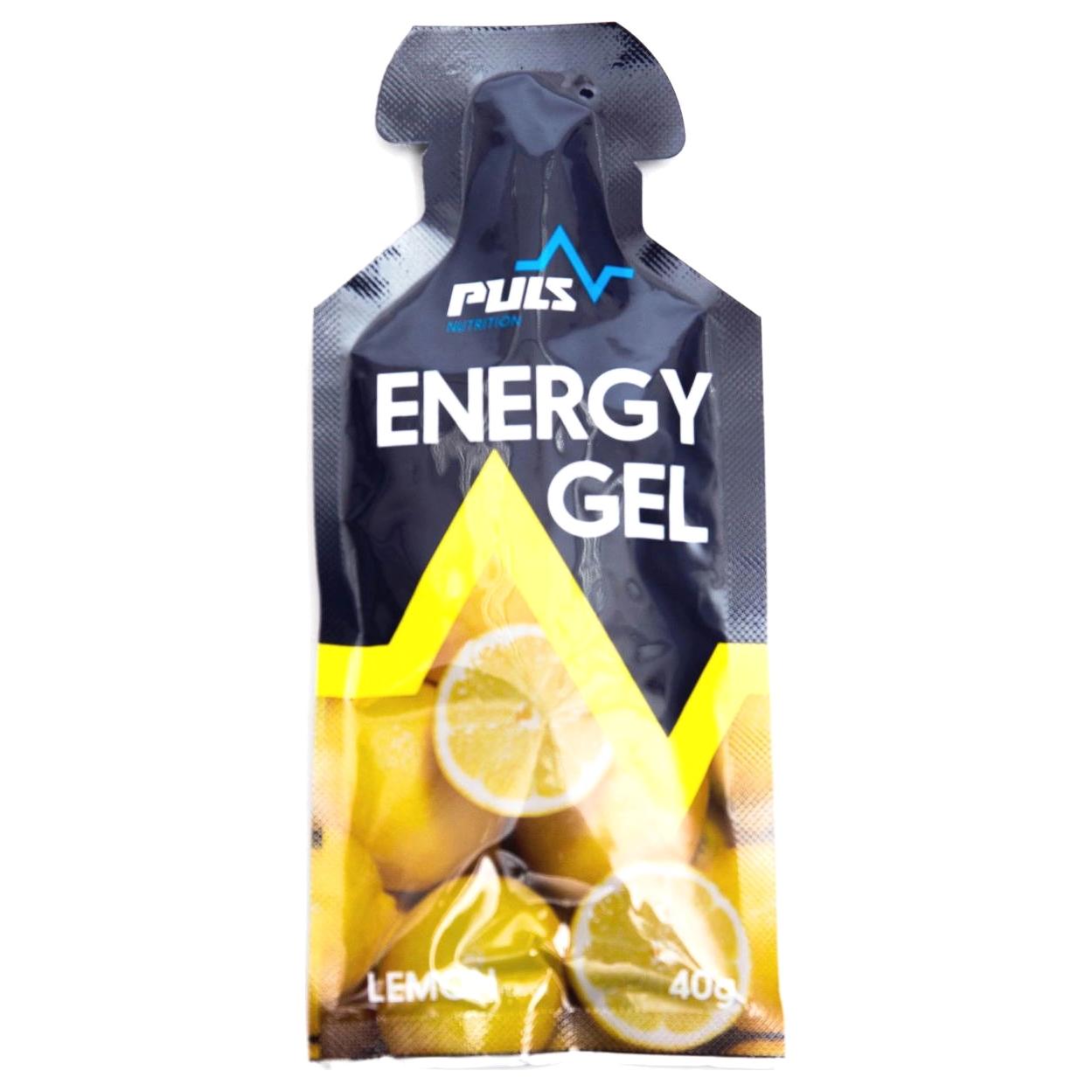 Гель пищевой Puls Nutrition Лимон 40 г
