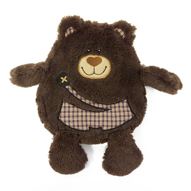 Мягкая игрушка Maxitoys Грелка-Медвежонок 19 см игрушка мягкая maxitoys курочка балерина 22см mt tsa 8327 22