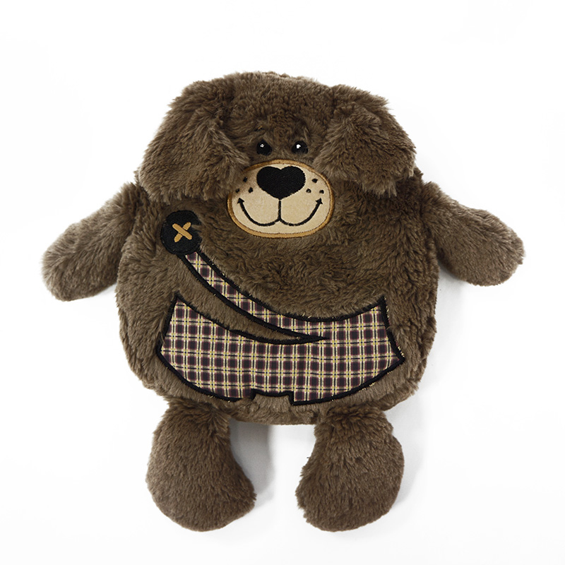 Мягкая игрушка Maxitoys Грелка-Собачка 19 см игрушка мягкая maxitoys курочка балерина 22см mt tsa 8327 22