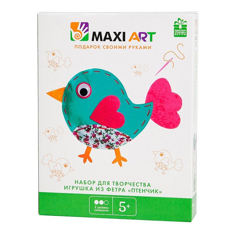 Набор для творчества Maxi Art Птенчик фото