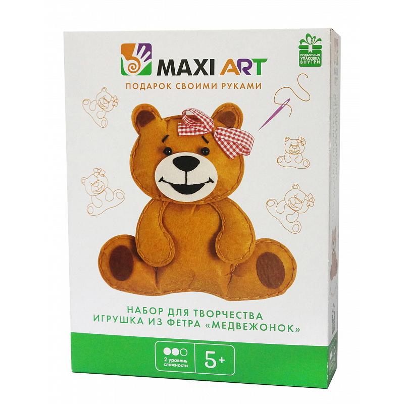 Набор для творчества Maxi Art Медвежонок
