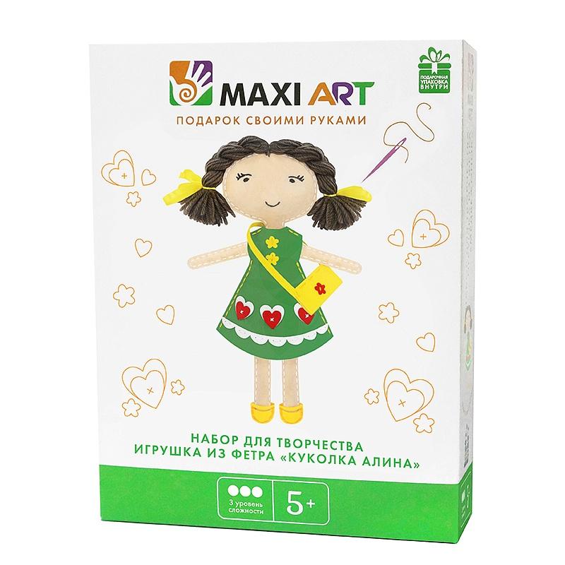 Набор для творчества Maxi Art Куколка Алина