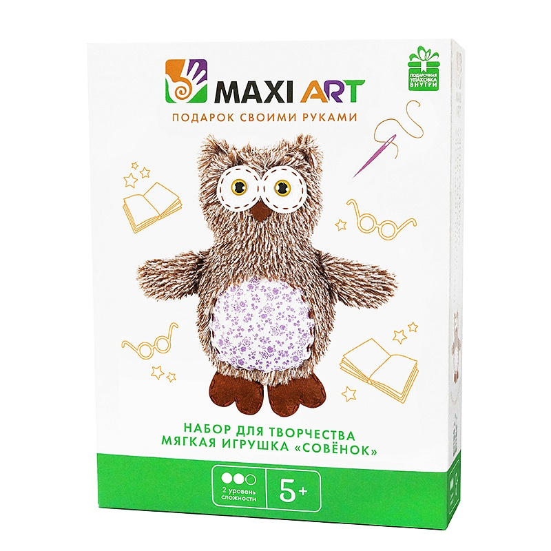 Набор для творчества Maxi Art Совенок
