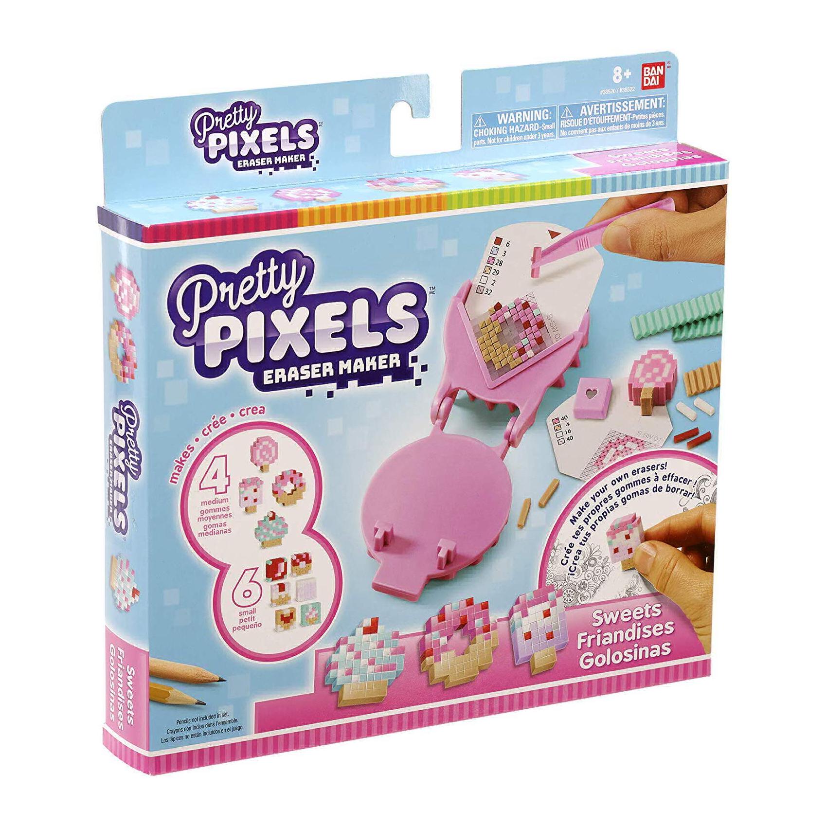 Набор для создания ластиков Pretty Pixels Любимые увлечения pretty pixels студия для создания фигурных ластиков любимые увлечения розовый