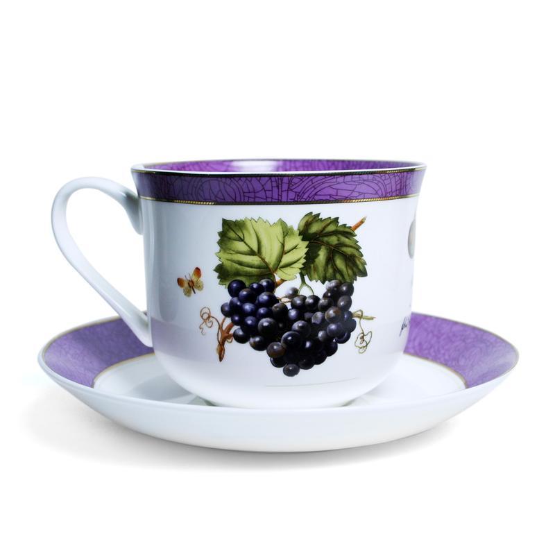 Фото - Пара чайная PrioritY Дыхание Прованса Виноград 480 мл пара чайная priority дыхание прованса вишня 480 мл