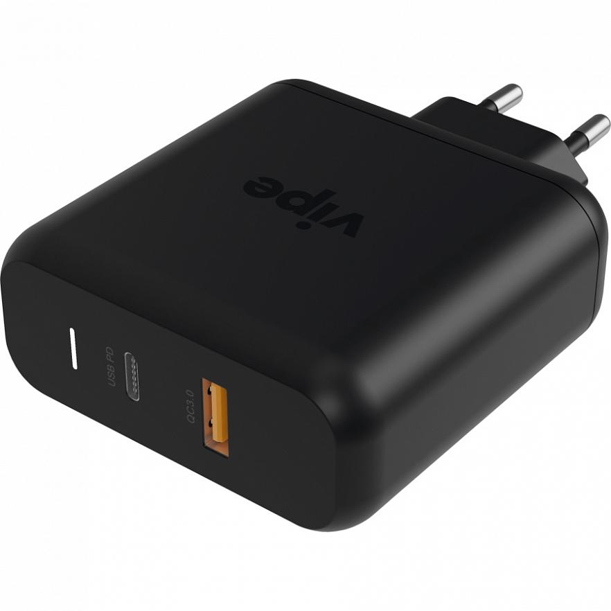 Сетевое зарядное устройство Vipe Travel Station S 45W черный VPTST45WBLK фото