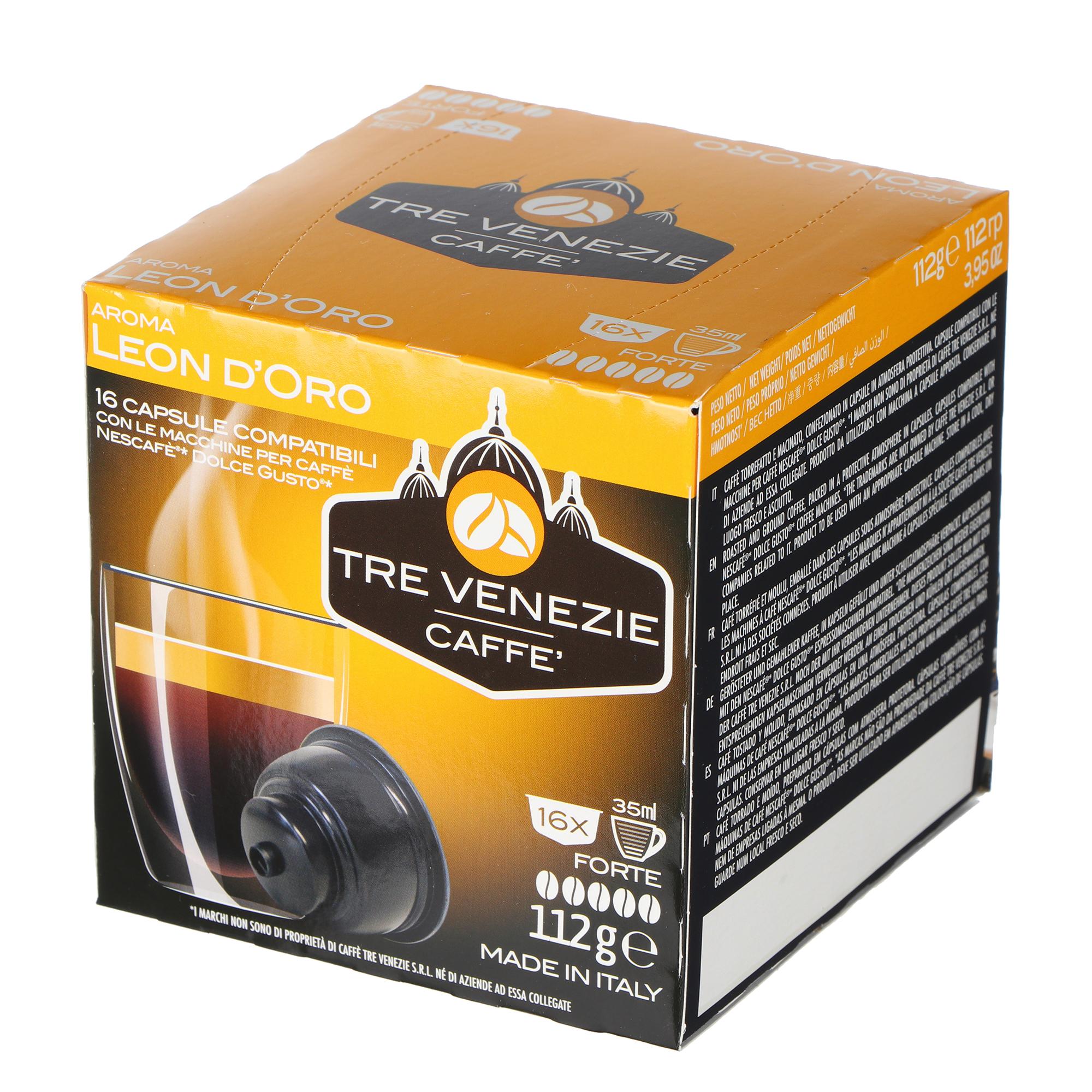Кофе Tre Venezie Caffe Leon DOro 16 шт