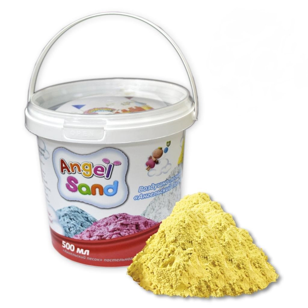 Игровой песок Angel Sand желтый 500 мл фото