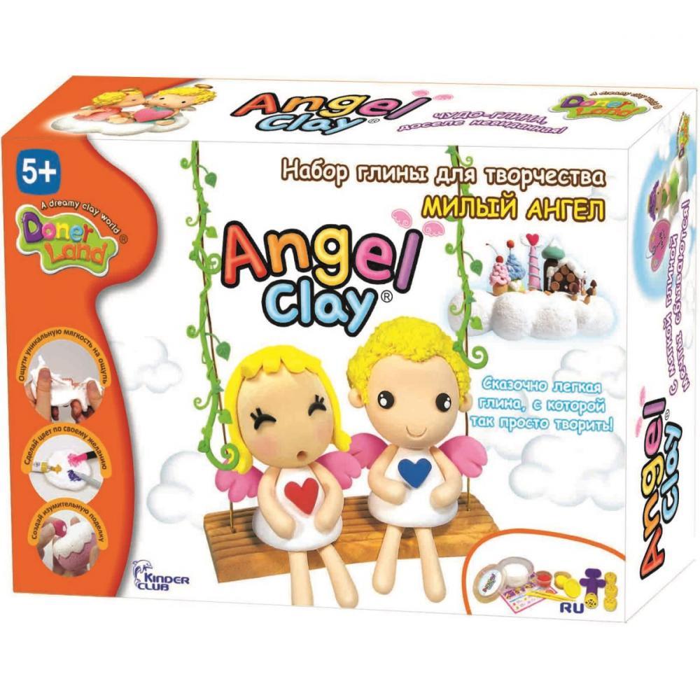 Масса для лепки Angel Clay Милый Ангел AA07011 масса для лепки erichkrause