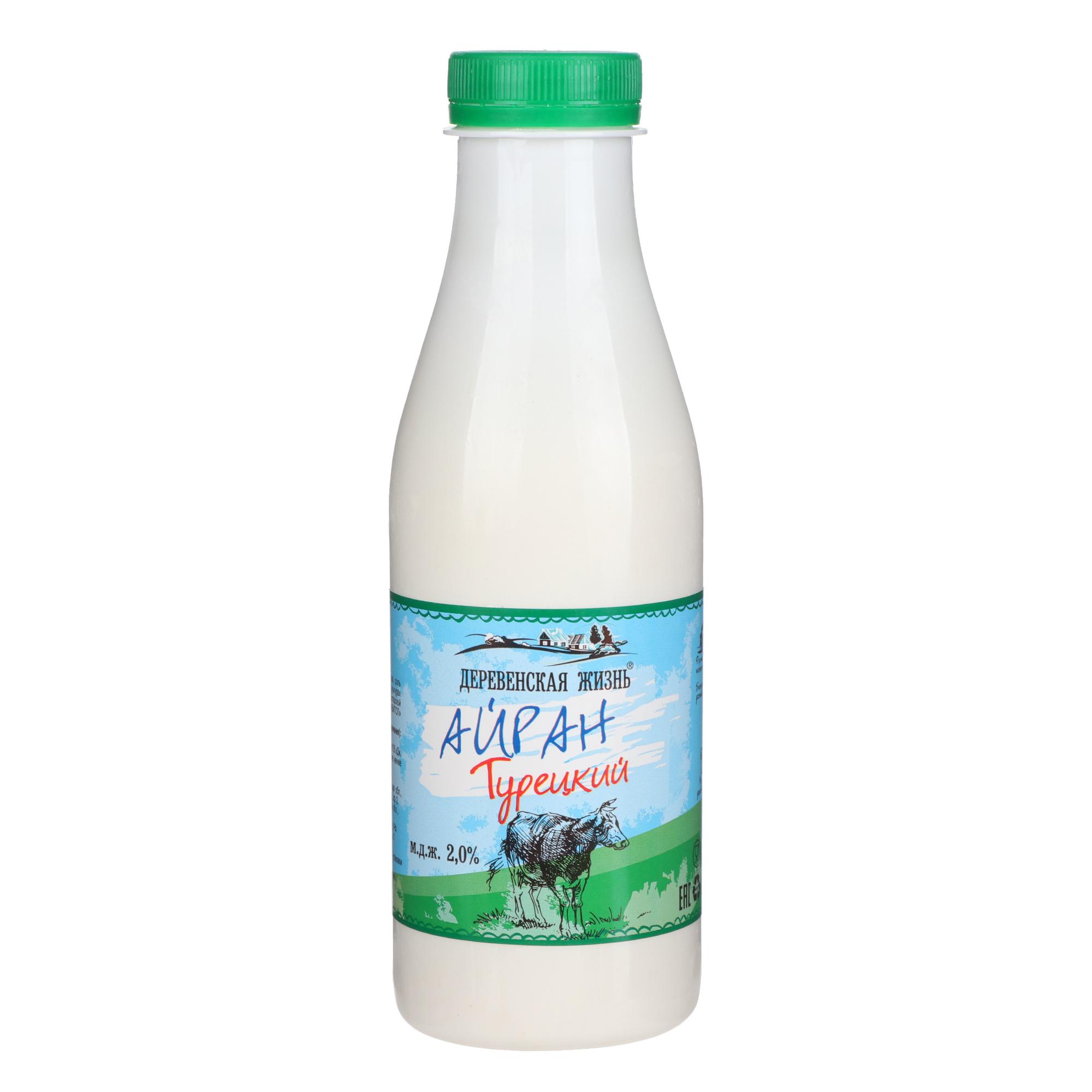 Напиток кисломолочный Деревенская Жизнь Айран
