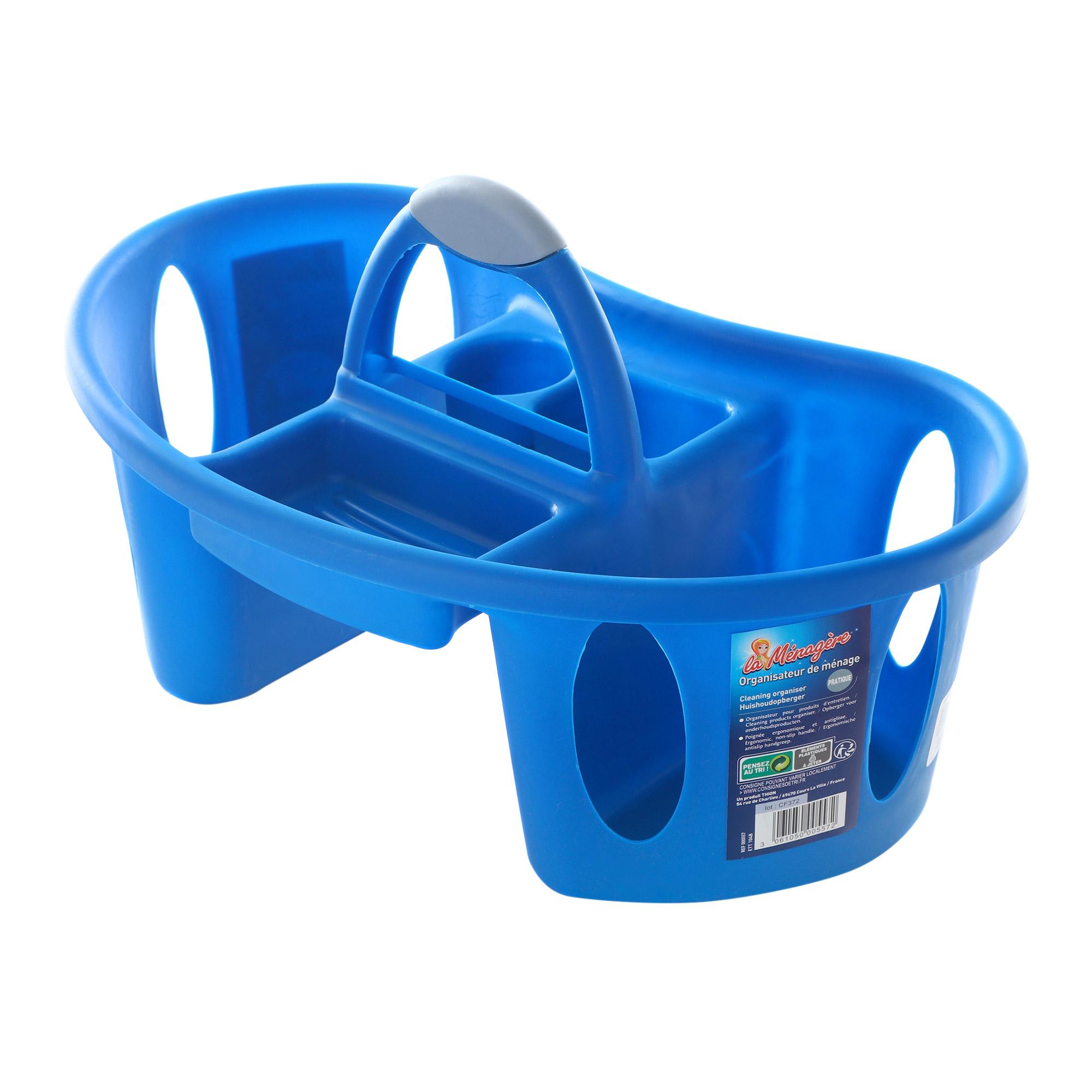 Купить Органайзер Thion для уборки, органайзер для уборки, синий, полипропилен.
