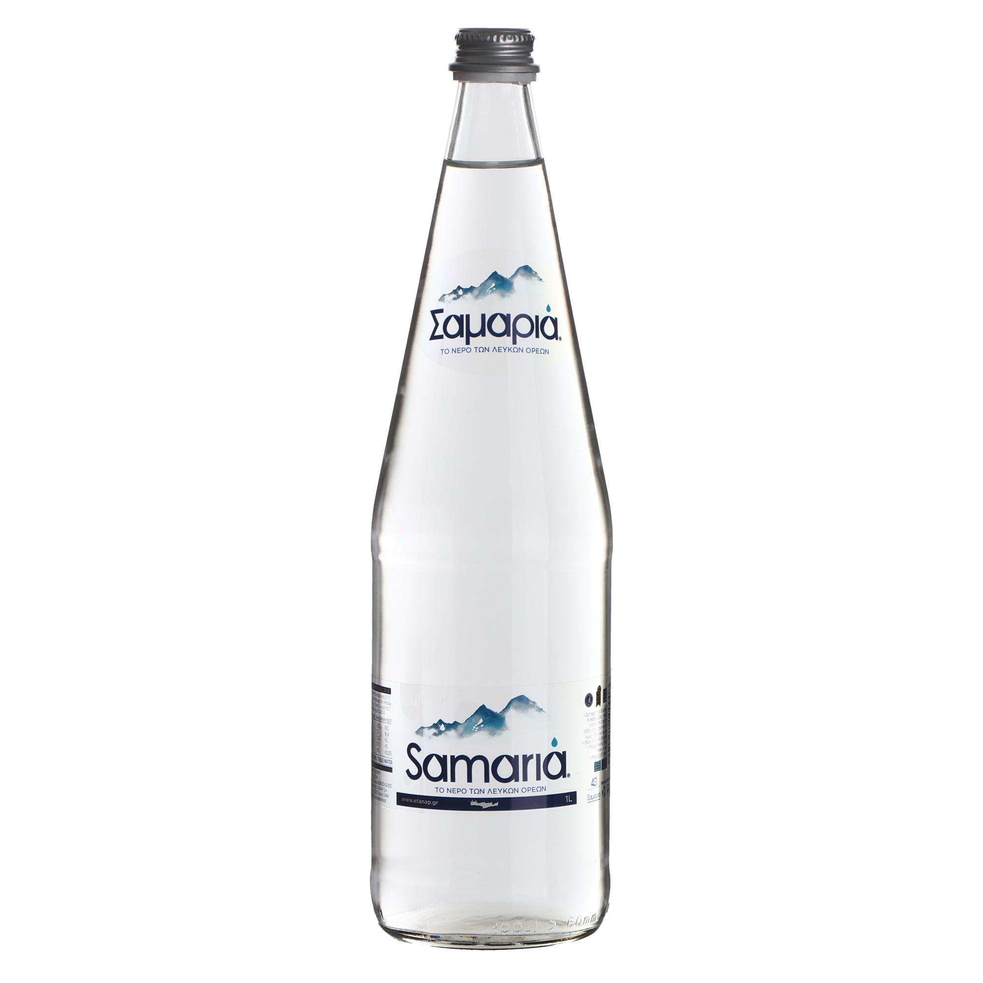 ledenev вода питьевая негазированная 1 5 л Вода питьевая Samaria негазированная 1 л